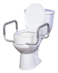 Drive Medical Standard Toilet Seat Riser