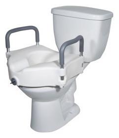Drive Medical Toilet Seat Riser