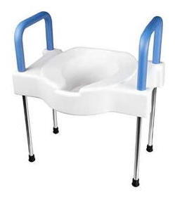 Maddak Elevated Toilet Seat with Frame