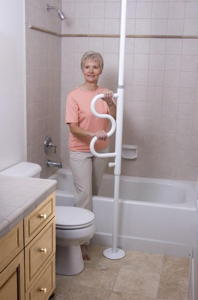 Stander Transfer Pole Bedside Grab Bar Bathtub