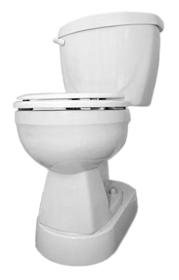 Toilevator Toilet Raiser